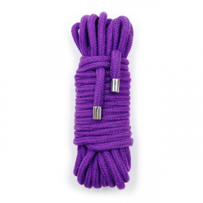 BDSM Cotton Bondage Rope 10 Meters PURPLE