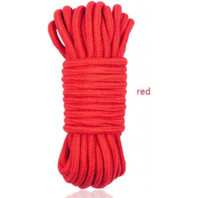 BDSM Cotton Bondage Rope 20 Meters RED