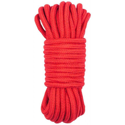 BDSM Cotton Bondage Rope 10 Meters RED