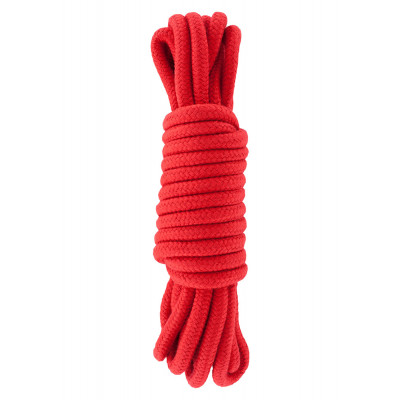BDSM Braided Cotton bondage Rope 5 Meters RED