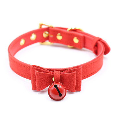 Red Kitty Collar with Bell
