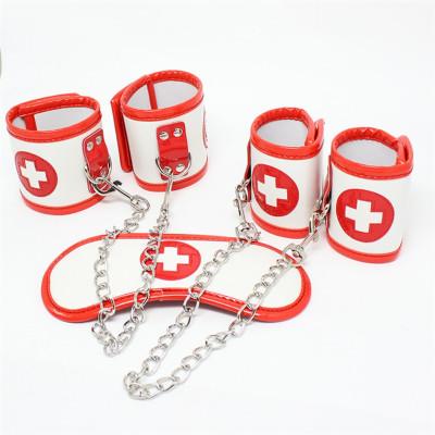 Nurses role play restraint cuffs set