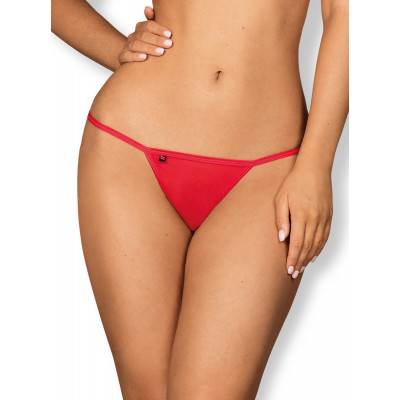 Obsessive Giftella Red Thong With Bow