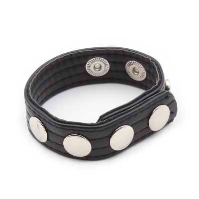 Naughty Toys Adjustable Studded Cock Strap Ring