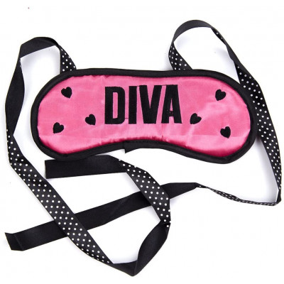 Naughty Toys Diva Pink Eye Mask