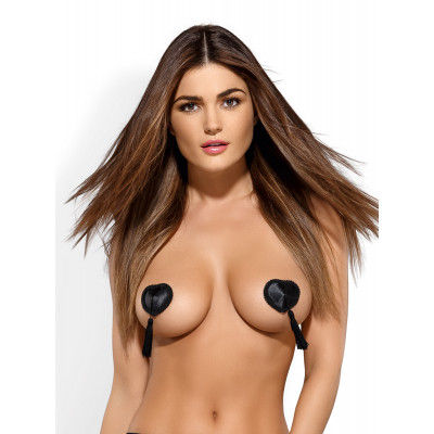 Obsessive Tassel Nipple Covers Black