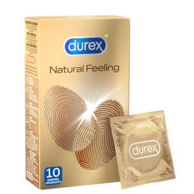 Latex free Durex Natural Feeling Condoms 10 pcs