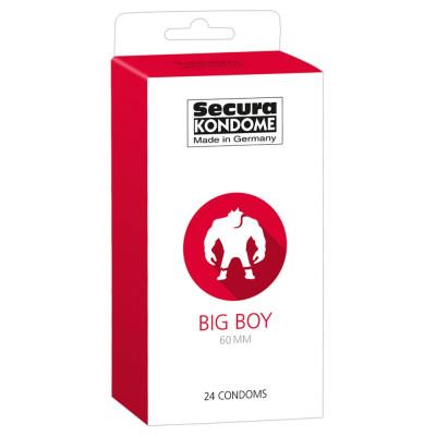 Προφυλακτικά Secura Big Boy 60mm 24 τεμαχίων