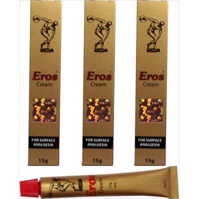 Προσφορά 2+1 δωρεάν  Eros delay Cream for Men 15 g