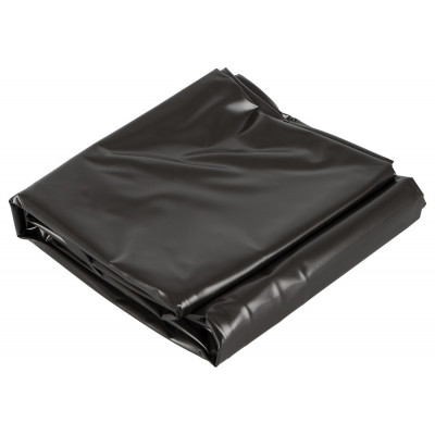 Double Black Vinyl BedSheet prodective cover 2 X 2,20 m