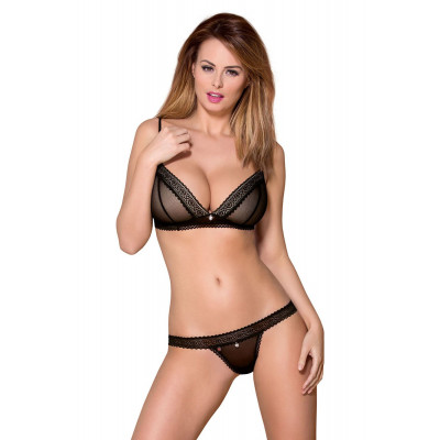 Obsessive Sensual Bralette with Thong