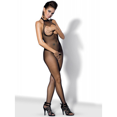Obsessive Spicy Bodystocking with Open Bust