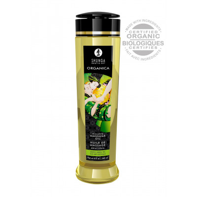 Shunga Massage Oil Organic Green Tea 240ml