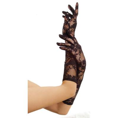 Leg Avenue Elbow Length Lace Gloves