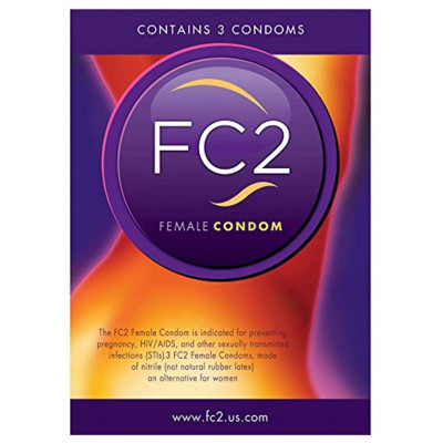 Femidom FC2 Female Condom 3 pcs