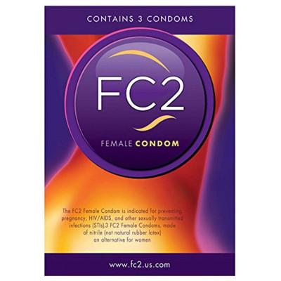 Γυναικείο προφυλακτικό Femidom FC2 Female Condom 3 pcs 17 εκ