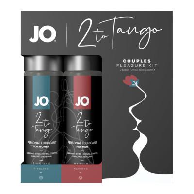 System Jo 2 to Tango Набор возбуждающих любрикантов
