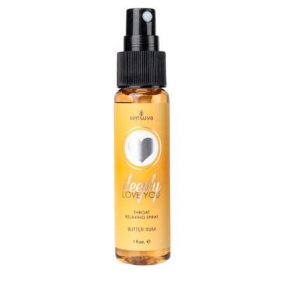 Sensuva Throat Relaxing Spray Butter Rum