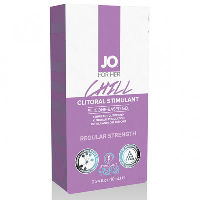 JO For Her Clitoral Stimulant Cooling Chill 10ml