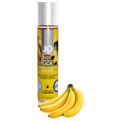 System JO Banana Flavored Water Based Lubricant 30 ml