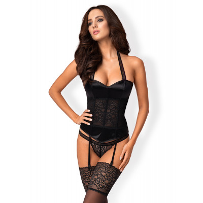 Obsessive Ailay Corset with Thong