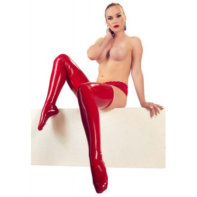 Red Latex Stocking