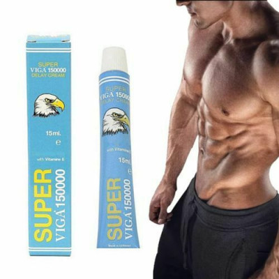 Blue Viga 150000 delay timing cream 15 gr