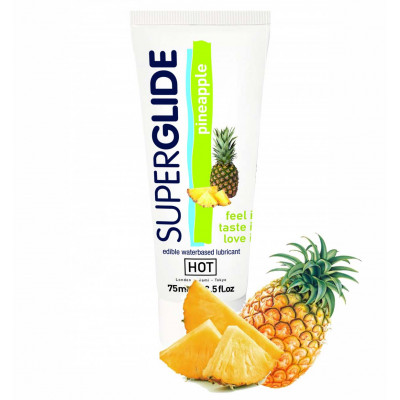 Edible Superglide Lube Pineapple 75ml