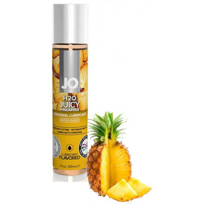 System JO Juicy Pineapple Flavored Water Based Lube 30 ml