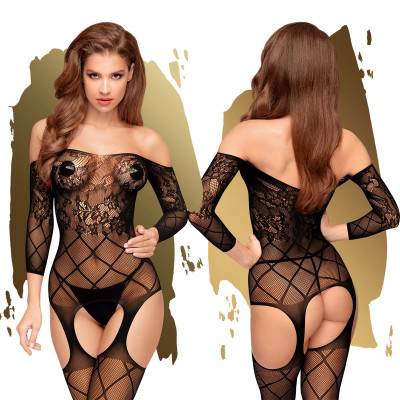Penthouse Top-notch Bodystocking S-L Black