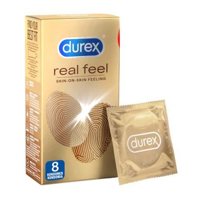 Latex free Durex Natural Feeling Condoms 8 pcs