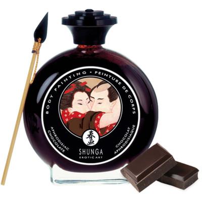 Shunga Chocolate Body Paint 100ml