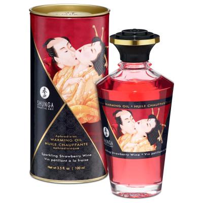 Shunga Intimate Kisses Aphrodisiac Romance Oil Strawberry