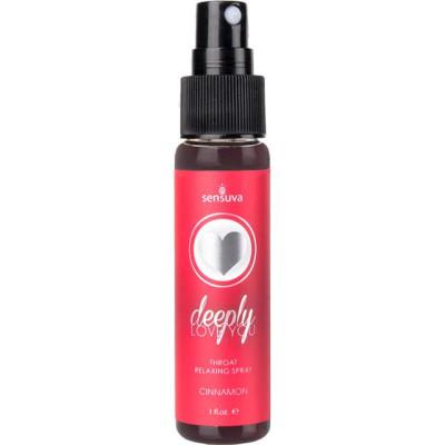 Sensuva Throat Relaxing Spray Cinnamon 30ml