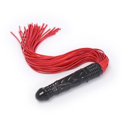 Naughty Toys Dildo Flogger Red 78cm