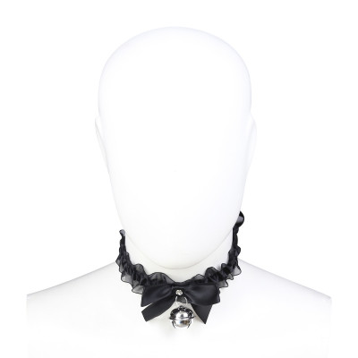 Naughty Toys Cute Black Choker with Bell