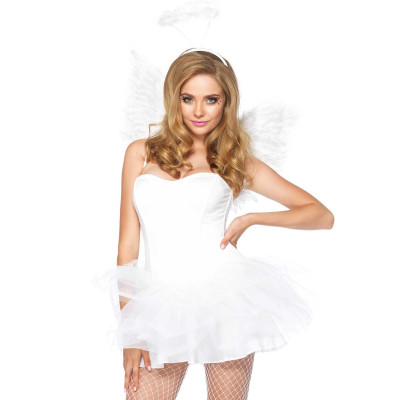 Leg Avenue Angel Accessory Kit White