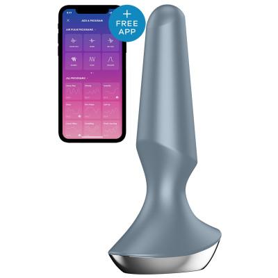 Satisfyer PLUG-ILICIOUS 2 Vibrating Anal Plug GREY