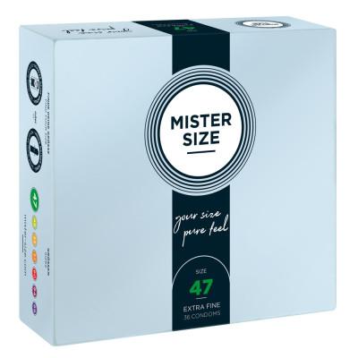 Mister Size 47 mm Condoms 36 Pieces