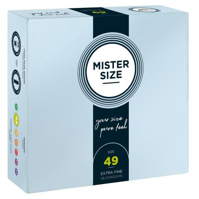 Mister Size 49 mm Condoms 36 Pieces