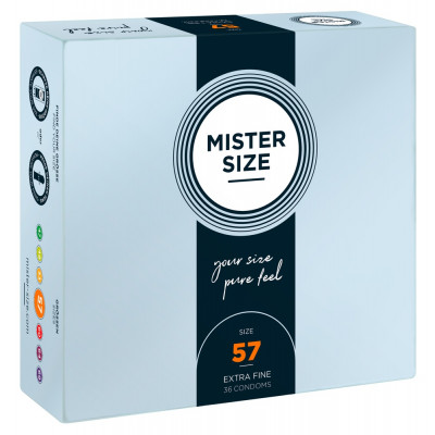 Mister Size 57 mm Condoms 36 Pieces