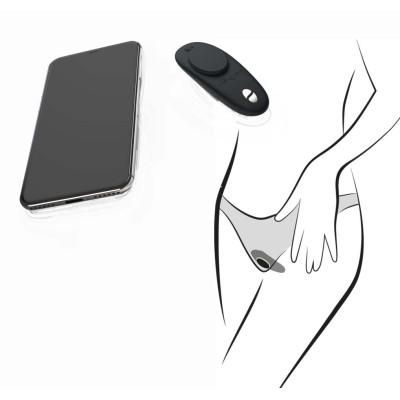 We-Vibe Moxie Panty Vibrator with Phone App. Black