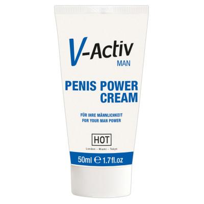HOT V-Activ Penis Power Cream 50 ml
