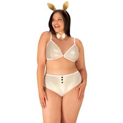 Plus Size Obsessive Neo Goldes Bunny Costume