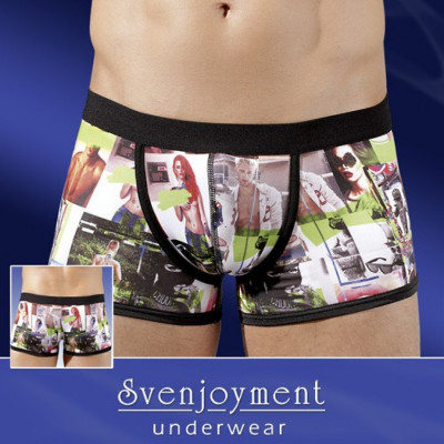 Photo Printed Boxer