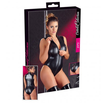 Wetlook Body with 2 Ways Zip