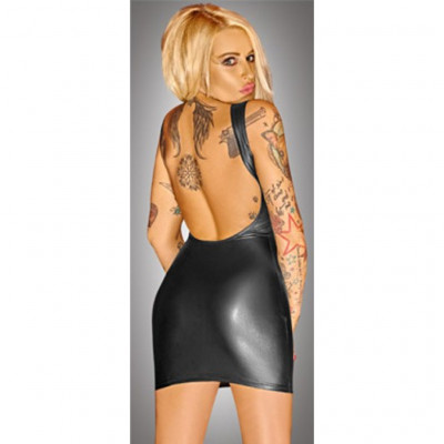Noir MiniDress with Lacing