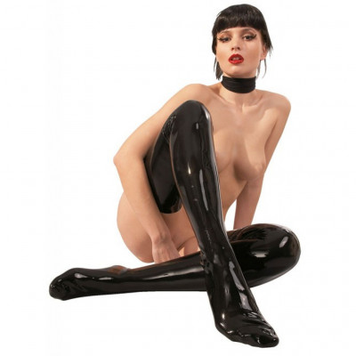 Black Latex Stocking