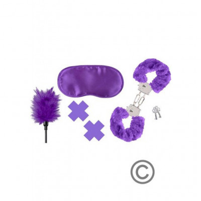 Purple Bondage Pleasure Kit