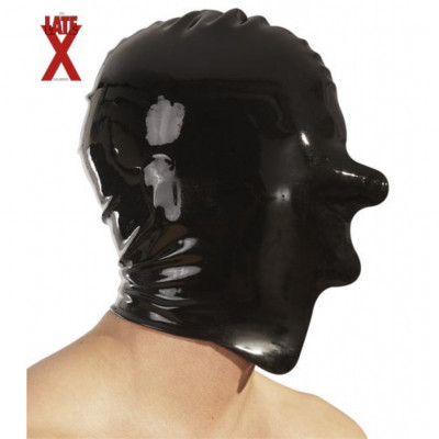 Latex Mask without Openings